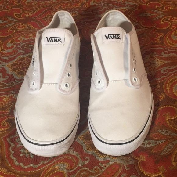 white vans size 12